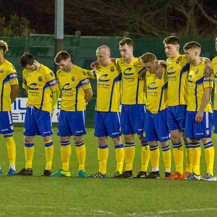 Victims remembered before kick-off