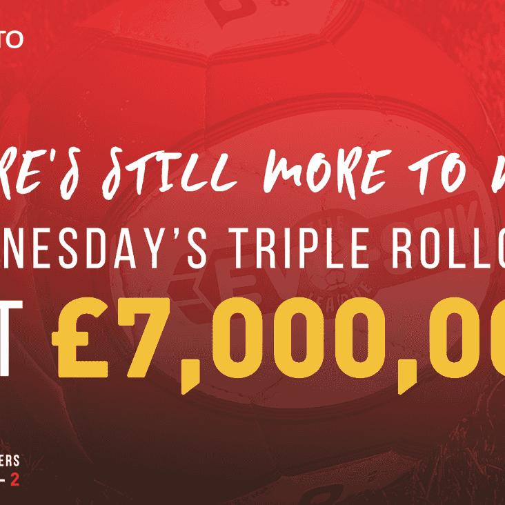 Triple rollover hits seven million!