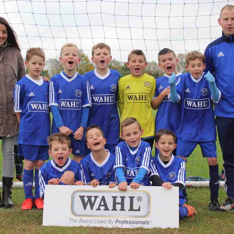 HBY U9's with their new sponsor