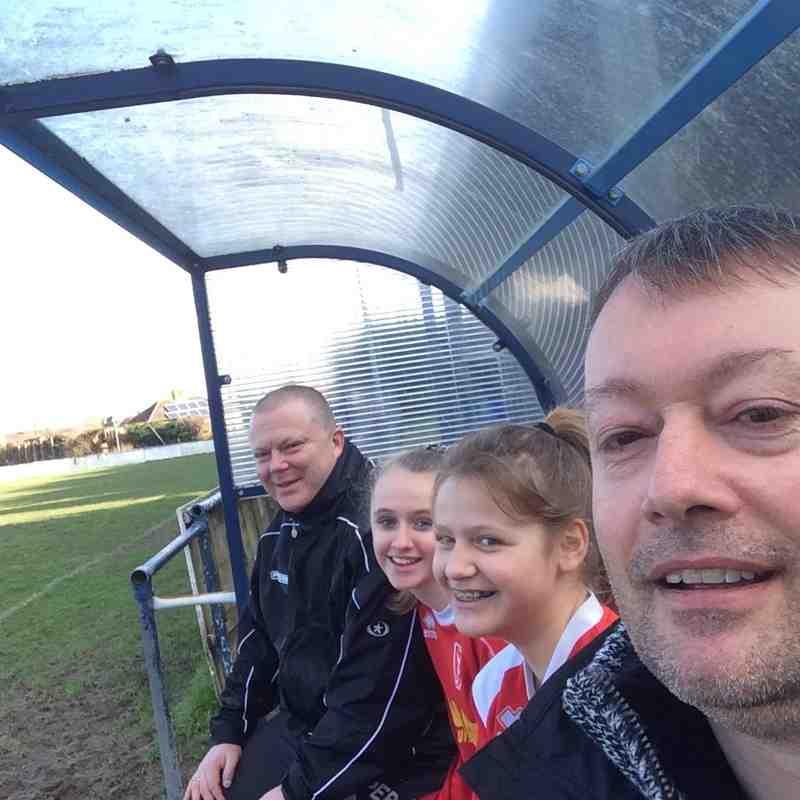 Ringmer Rovers v Hawks Youth Withdean Girls U14's