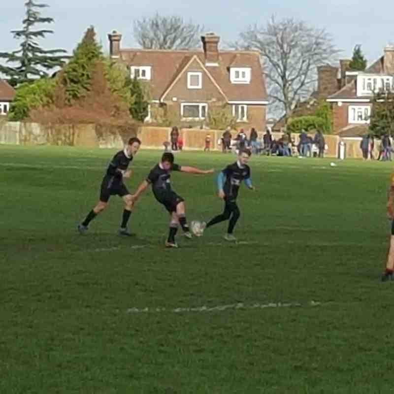 Under 14's v Medway - 7th February 2016