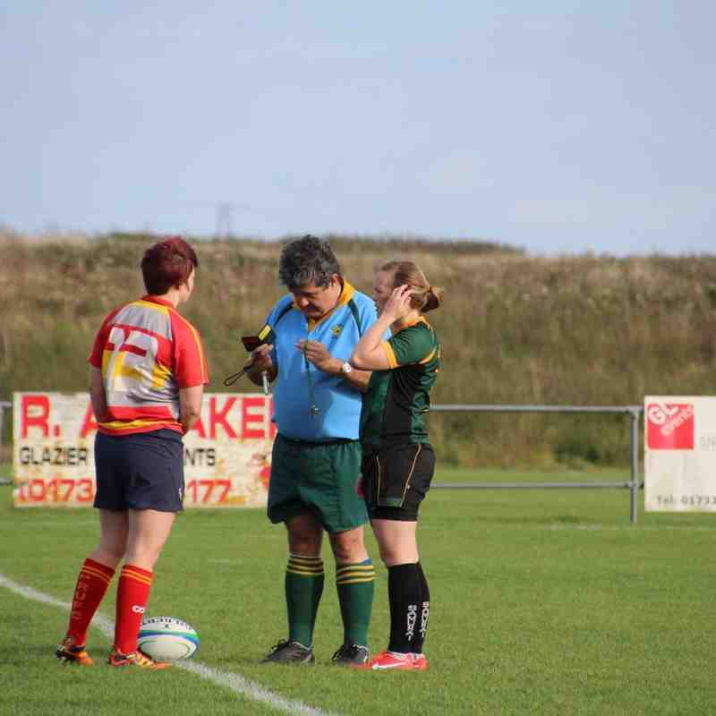 P'boro ladies v Bury St Edmunds (18Oct14)