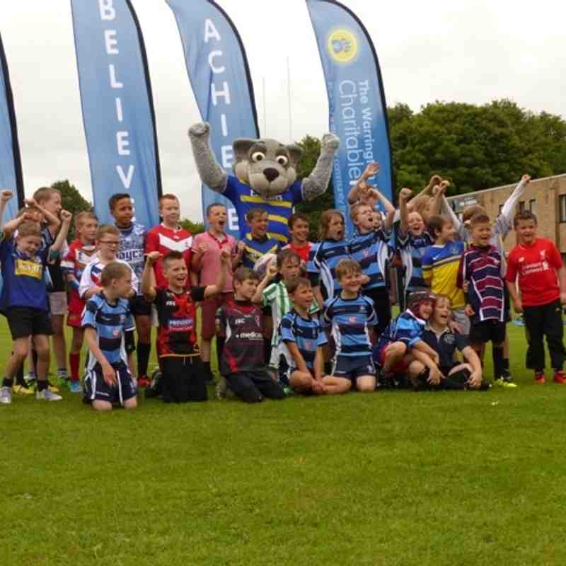 Warrington Wolves skills camp