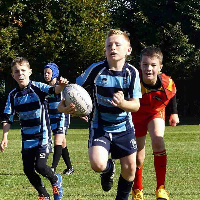 Chester Gladiators U9s v Atherton Dragons