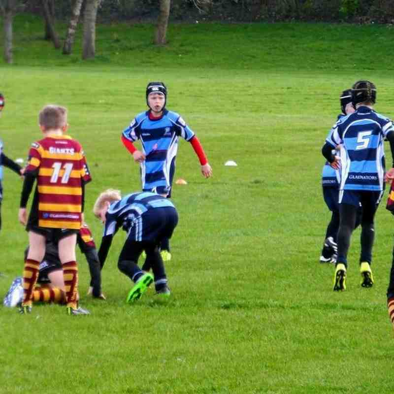 Chester Gladiators U10s v Latchford Giants