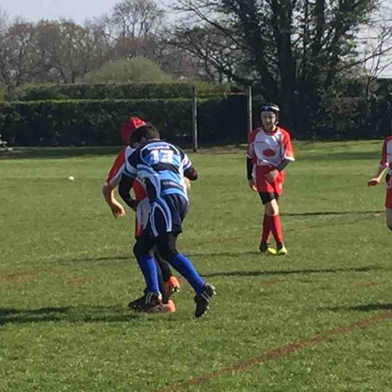 Chester Gladiators U11s v Leyland Warriors