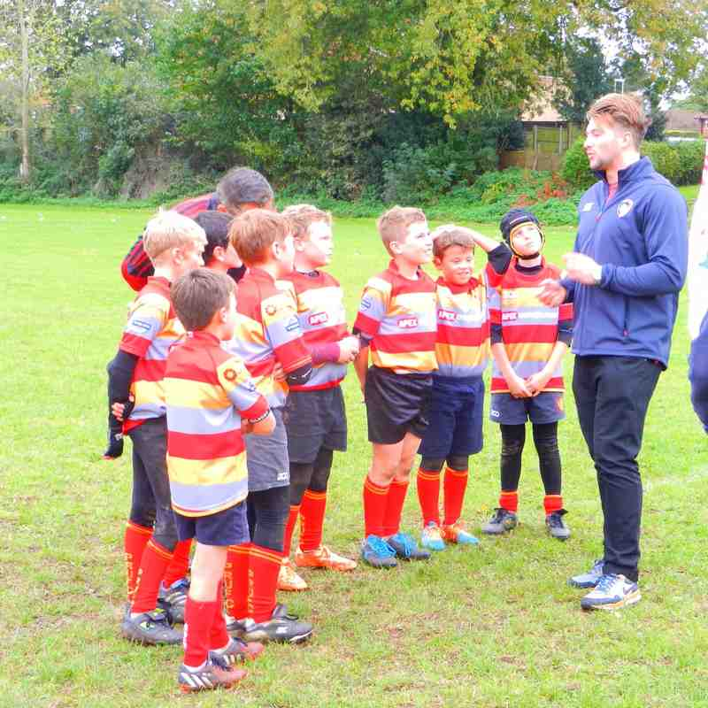 Under-10s in Prima Tiger Cup at Swaffham 26-Oct-14