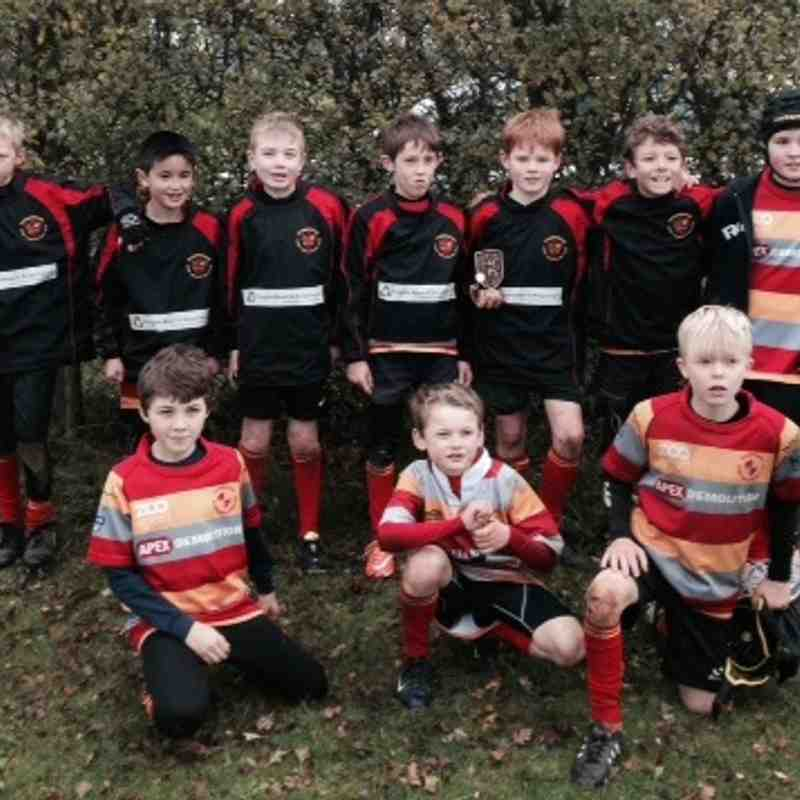 u10s Team Ellis at Cottenham 16-Nov-14