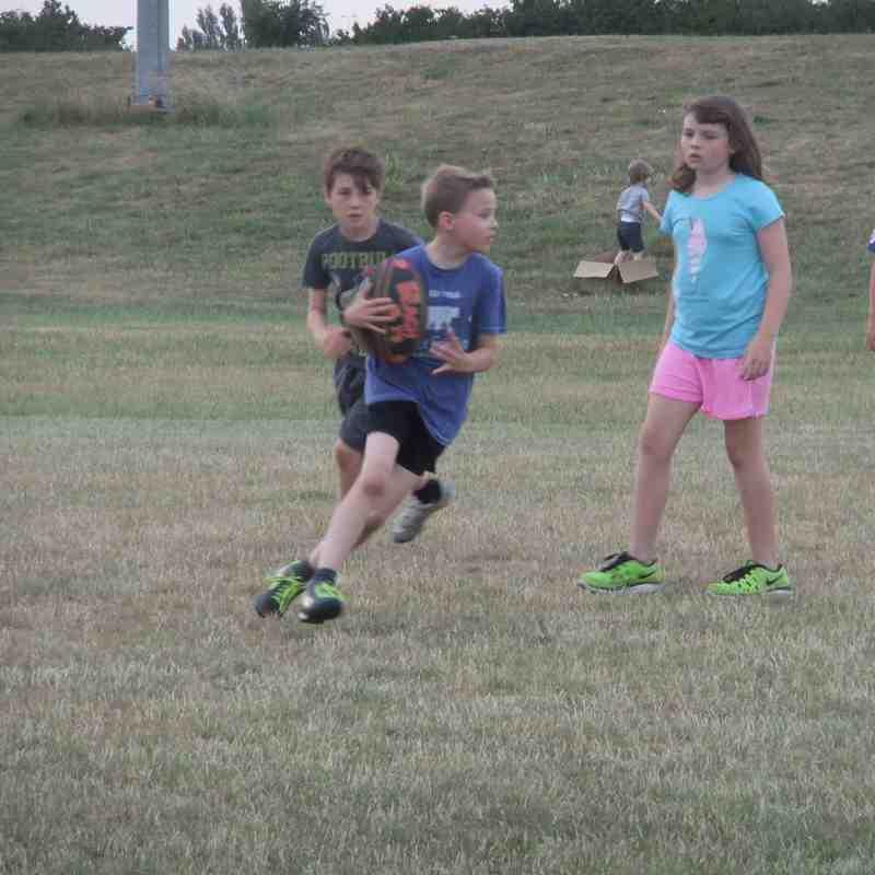 Under-10 Team Ellis in Summer Touch League