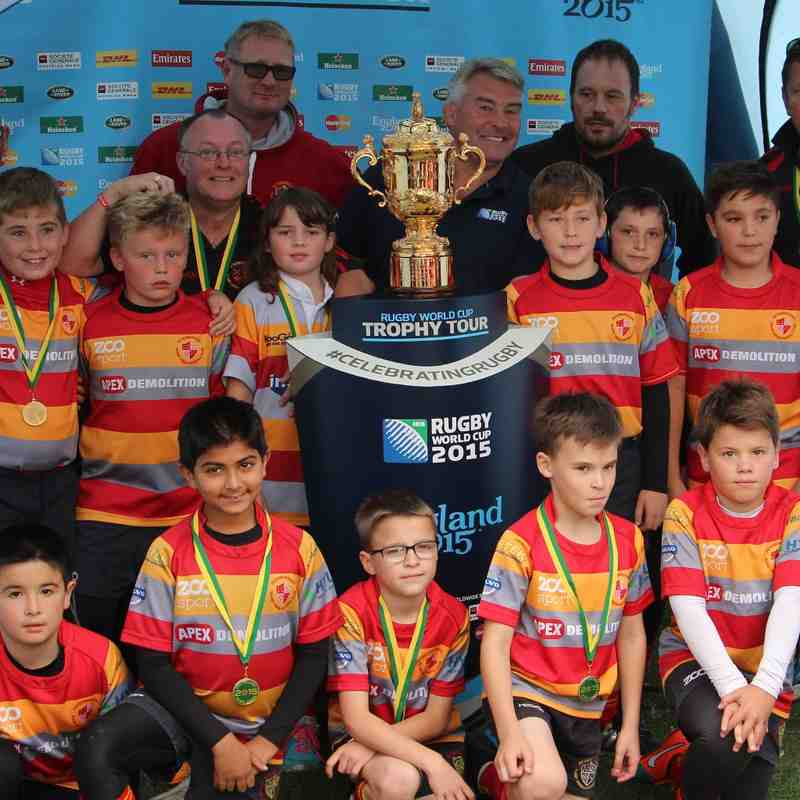 PRUFC u10s with Rugby World Cup 18-Aug-2015