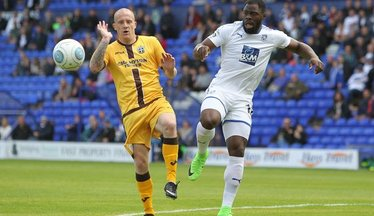 Dover Take Alabi On Loan Until New Year