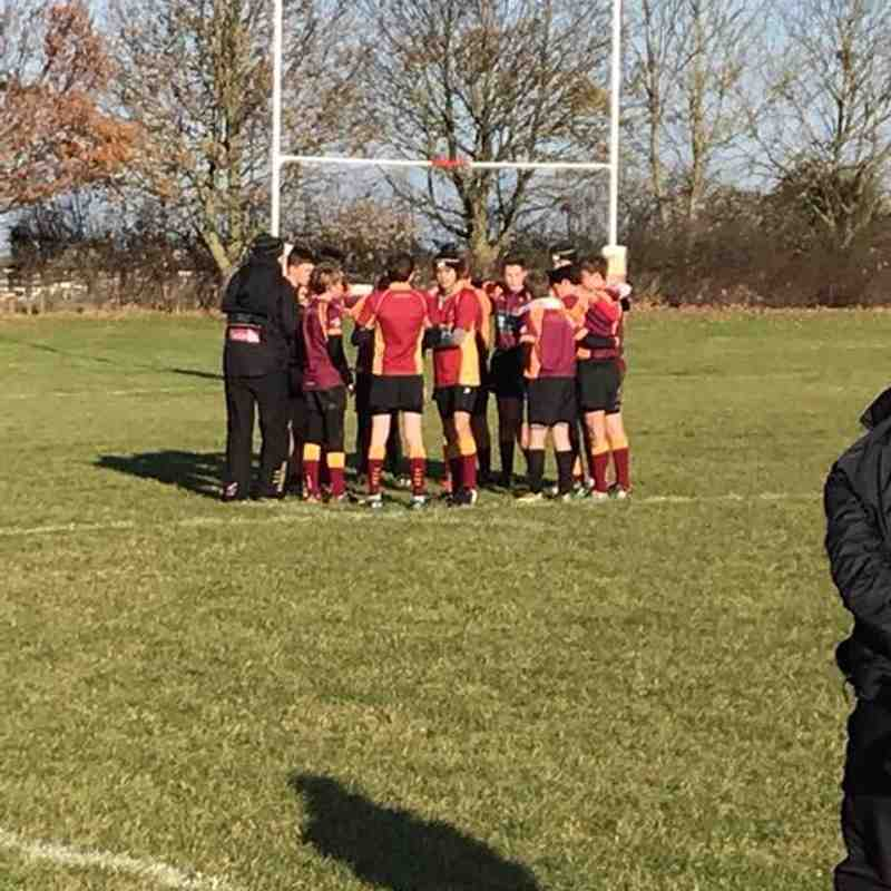 Tows U14s V Wellingborough 26th Nov 2017
