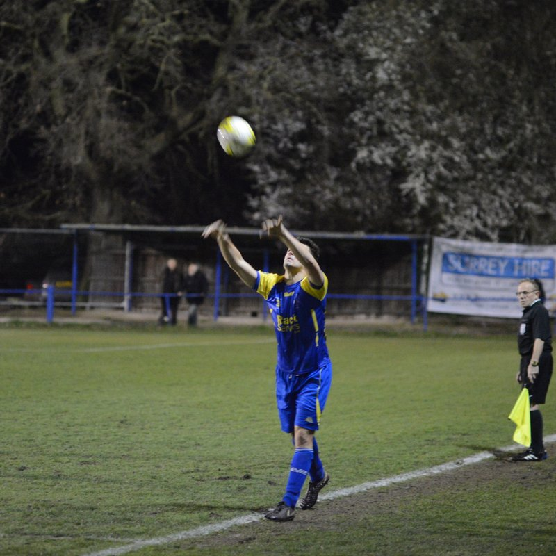 RPV 1 Banstead 0    -  5th win in a row!