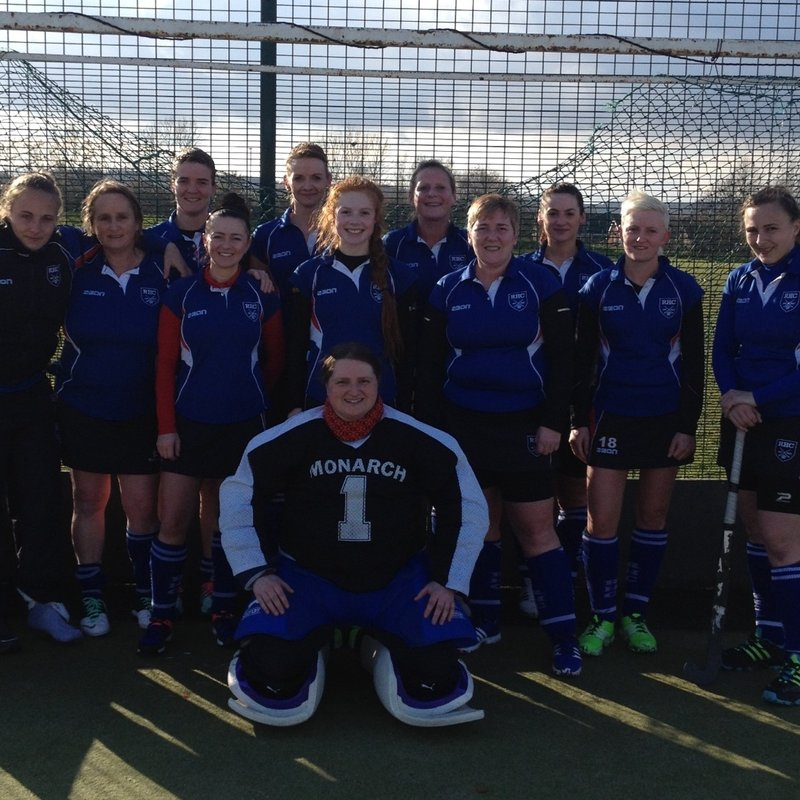 Ladies 1st Team lose to Halifax Ladies 1 1 - 4