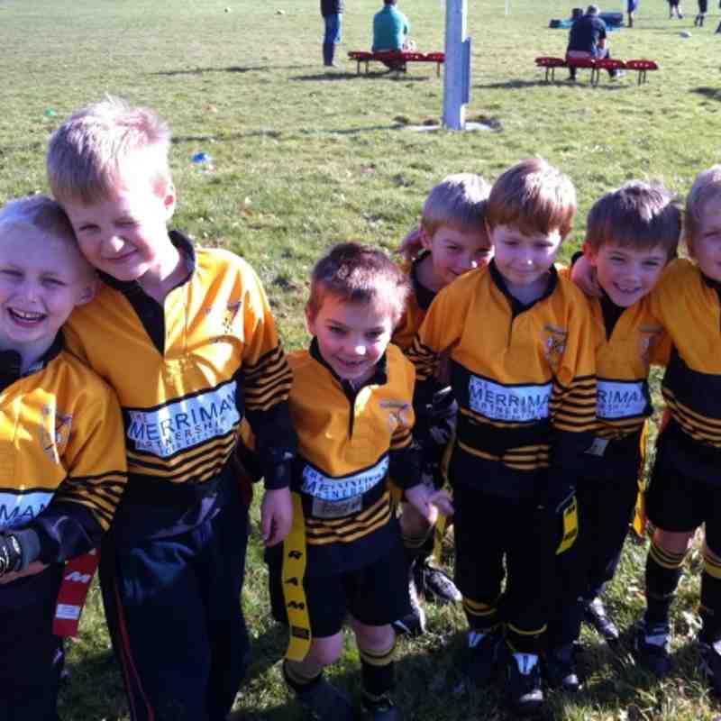 U6 squad at Pewsey 26th Feb 2012
