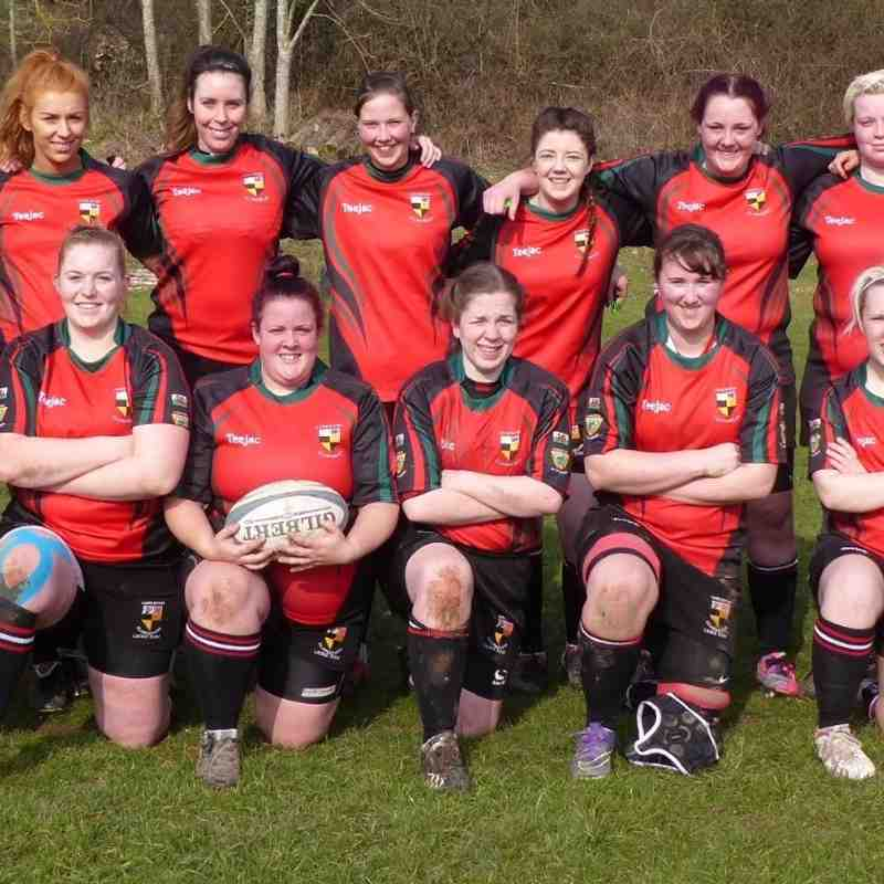 Llangollen Ladies v Mold Ladies pre-match and team pictures