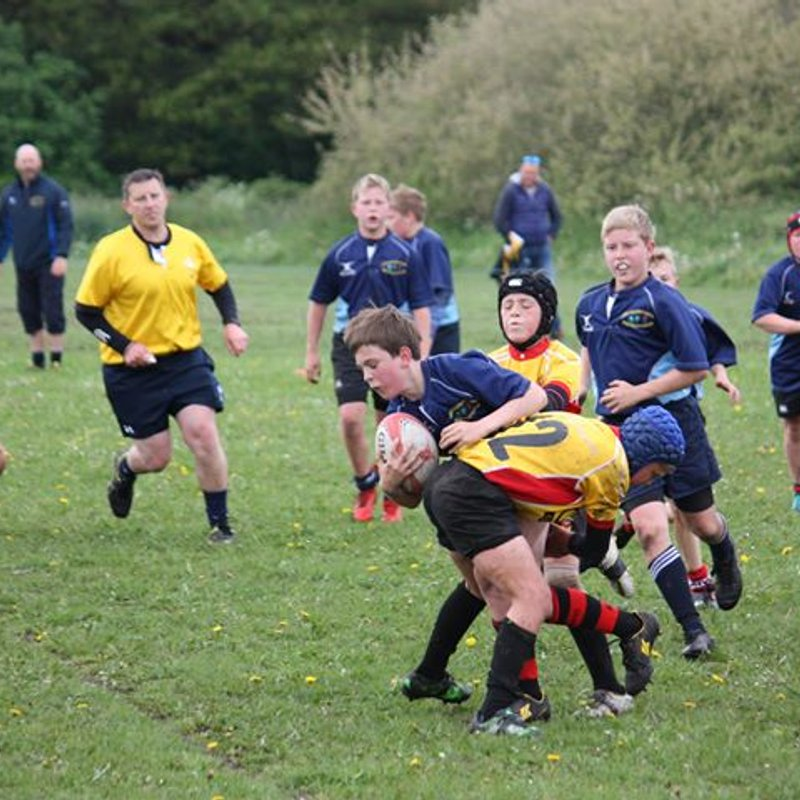 North East Wales Schools U11 v Newport by Aaron Jones