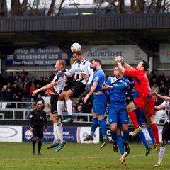 Maidenhead United v Stockport County. F A Trophy