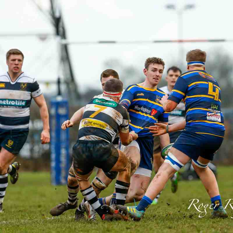 Chippenham 31 v Old Centralians 32. 16/02/19. Despite a strong second-half by Chippenham it was Old Centralians who came out winners.