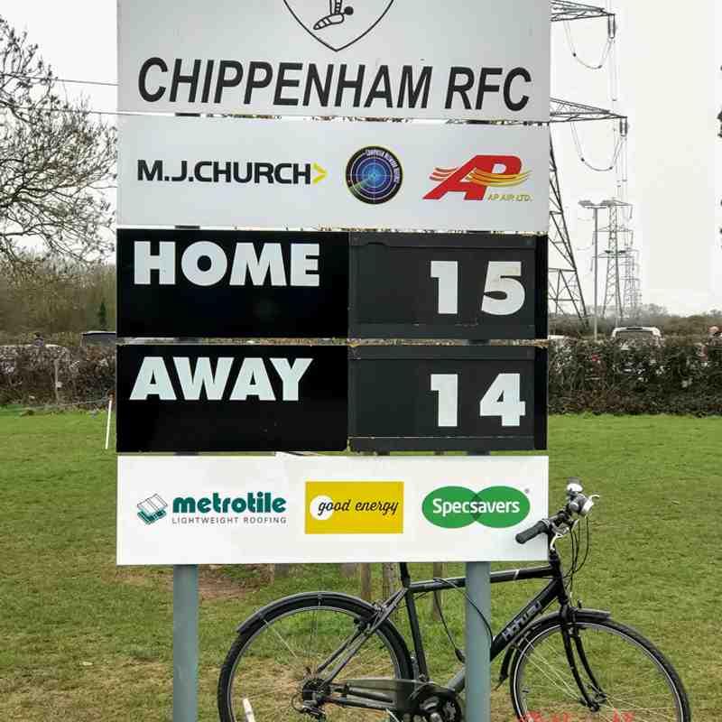 Chippenham 1st  v Royal Wootton Bassett