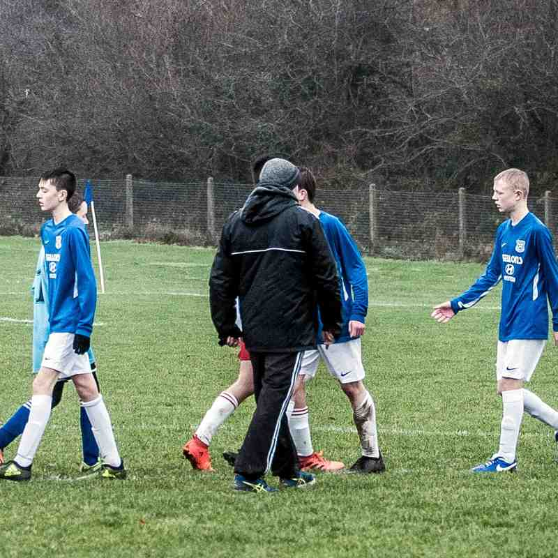 U15 SBYL Carniny AYFC v Castle Juniors 01/12/2018
