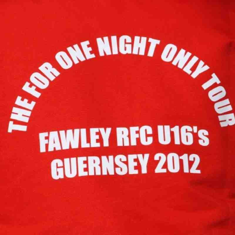U16's Guernsey Tour 2012
