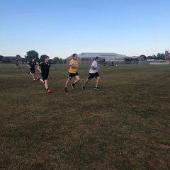 Pre-season training 10/07/18