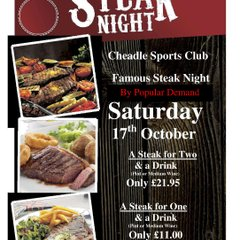 Social Events at Cheadle LC