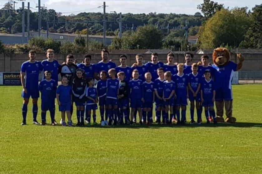 Reading City FC  lose to Brimscombe & Thrupp 3 - 1