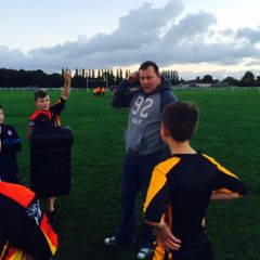 Another World Cup winner visits the the club!! Steve Thompson drops in for a Q & A and some coaching tips for the U13's