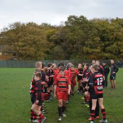 under 13s home win against strong Mold team