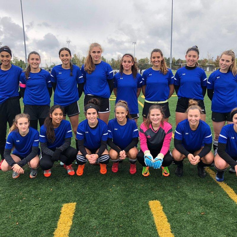 Berlin Academy XI Girls beat Northern Soccer Academy 4 - 0