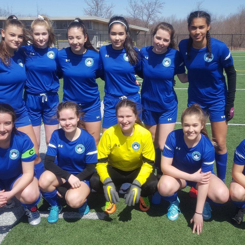 Berlin Academy 2002 Girls lose to Georgetown Mustangs 0 - 3