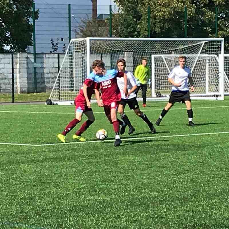 Hamworthy Utd U18 v Verwood Allstars U18