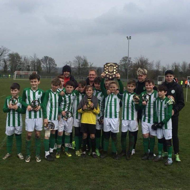 Under 13's  beat Lancing Rangers 0 - 21