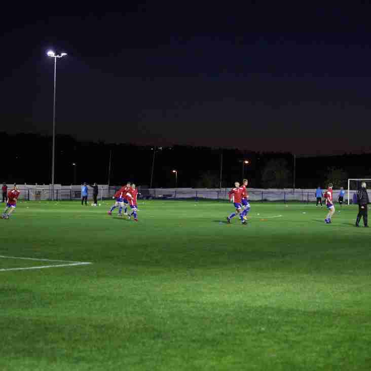 Lights on for Glossop