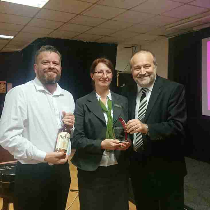 Clubs receive monthly awards