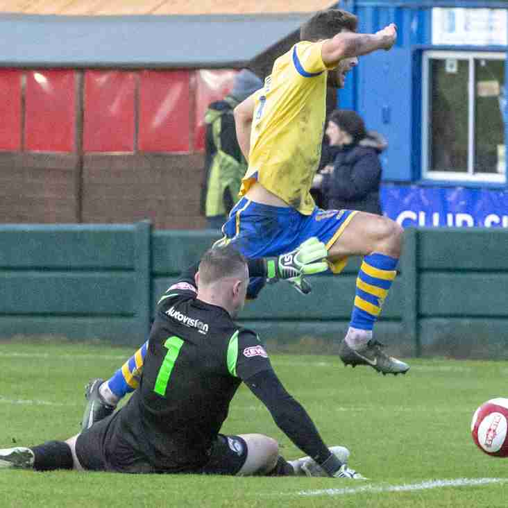 One in, one out for Warrington's frontline