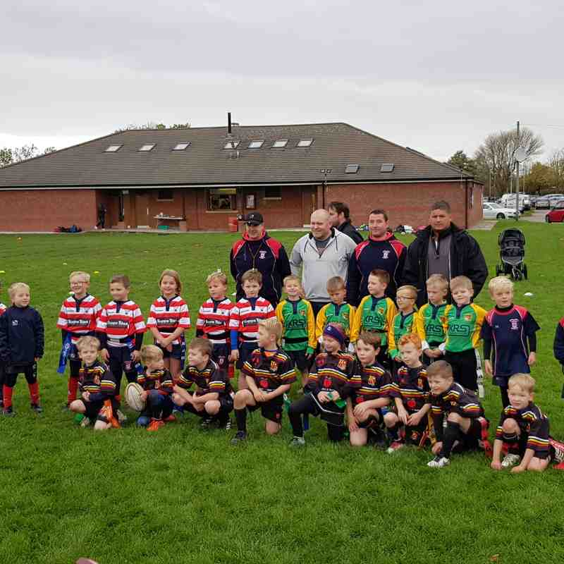 Under 7s Tarleton and Vale at Tarleton