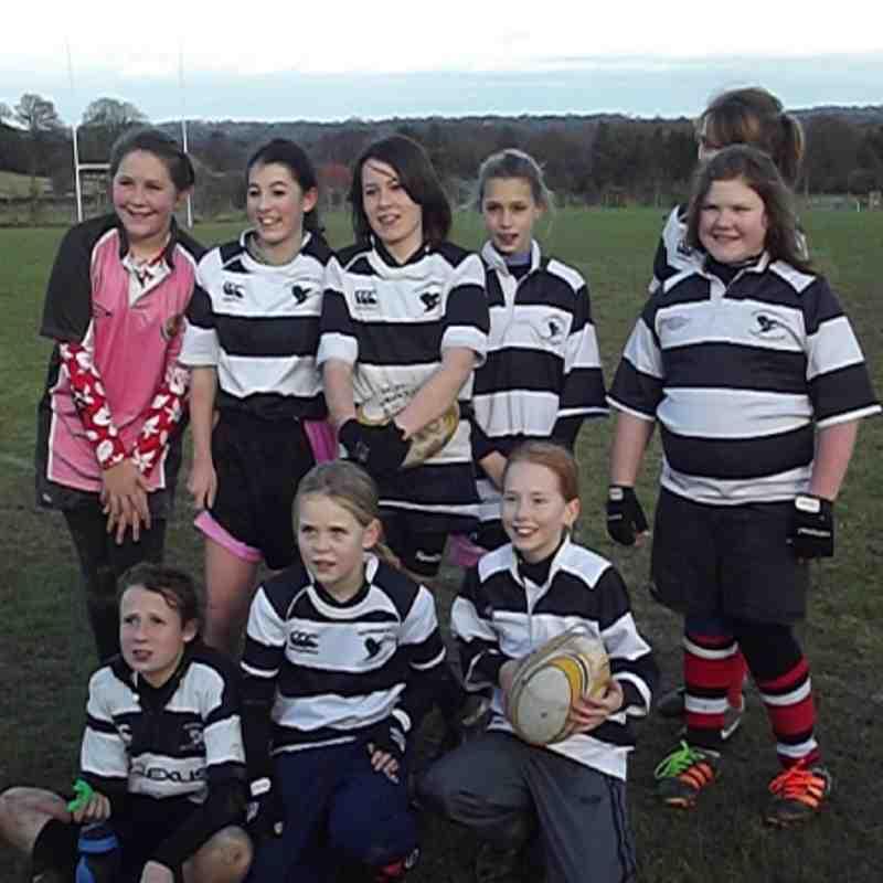 Girls u13s vs Beckingham 9/12/12