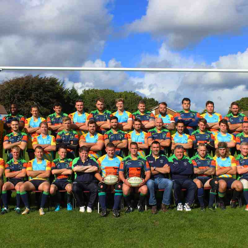 New Milton & District RFC 1st and 2nd squad