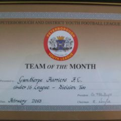 Team of the Month Feb 2013