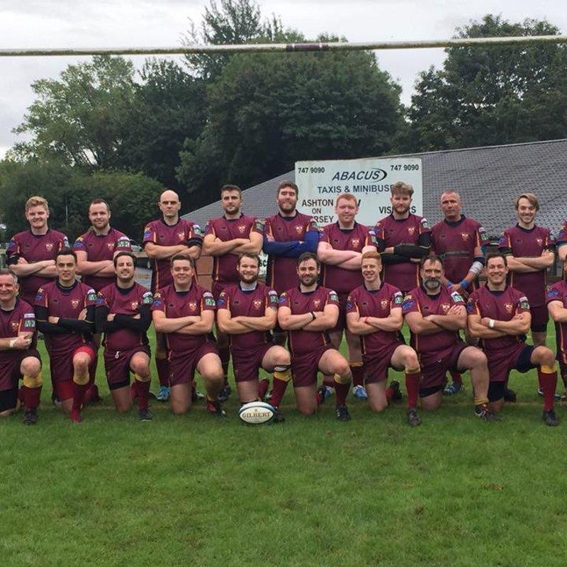 1st XV beat Heaton Moor 2 12 - 8