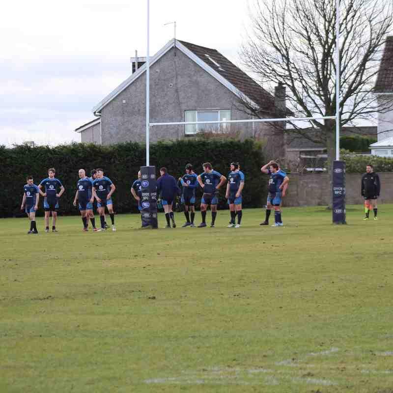Dyce RFC VS. Fraserburgh RFC