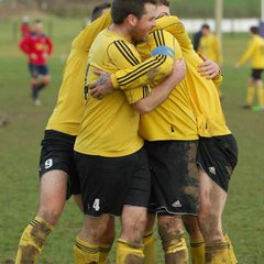 Geo Sandoe Cup Quarter Final- Westbury on Severn Res 3 - 1 Redmarley 31st January 2015