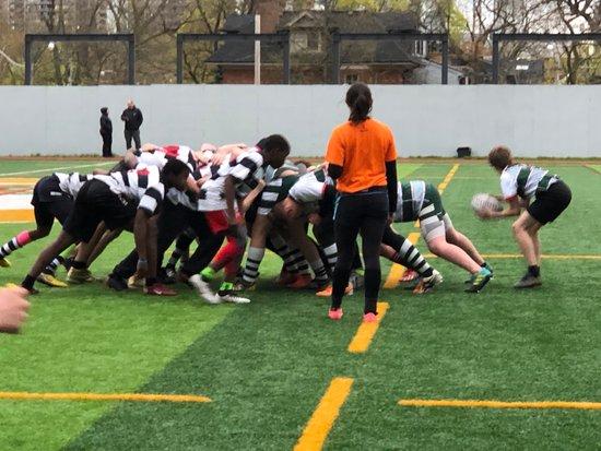 Highland U15 boys versus MRA May 10th
