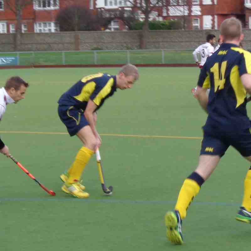 Eastbourne Hc Away Sussex Cup Semi Final 09/01/2016