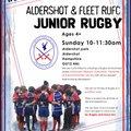 Aldershot & Fleet RUFC.  est.1991 vs. Alresford & Chineham