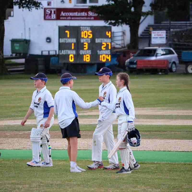 Under 13s Cup success (photos courtesy of Michelle Bigland)