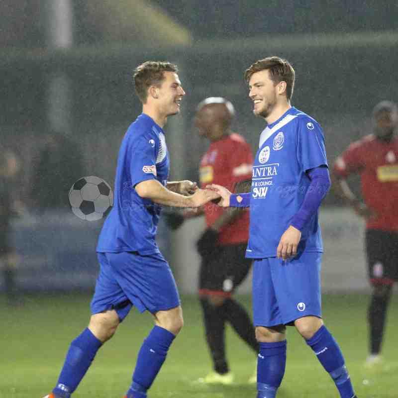 Chippenham Town V Redditch United Match Pictures 01st November 2016